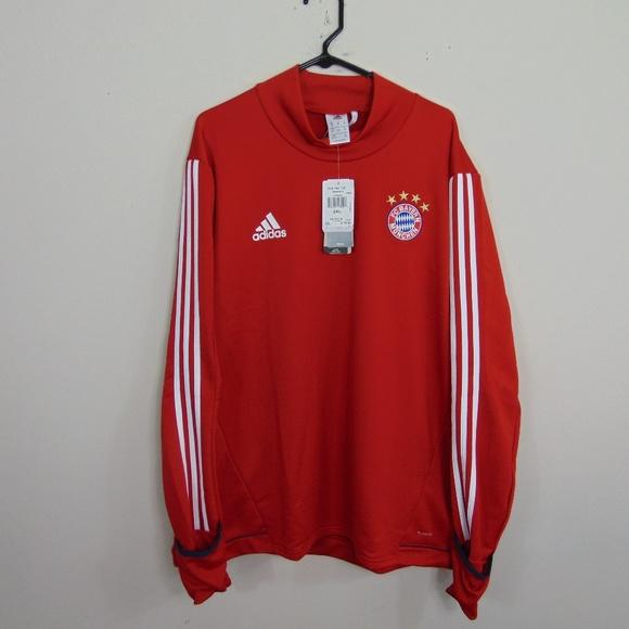 hot sale online 513c8 f2a80 NEW Adidas Men 2X FC Bayern Munich Training Shirt NWT